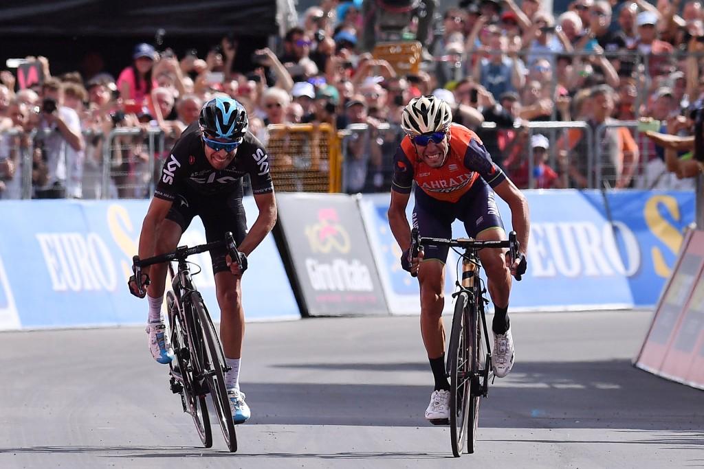 Nibali e Landa al Giro d'Italia 2017