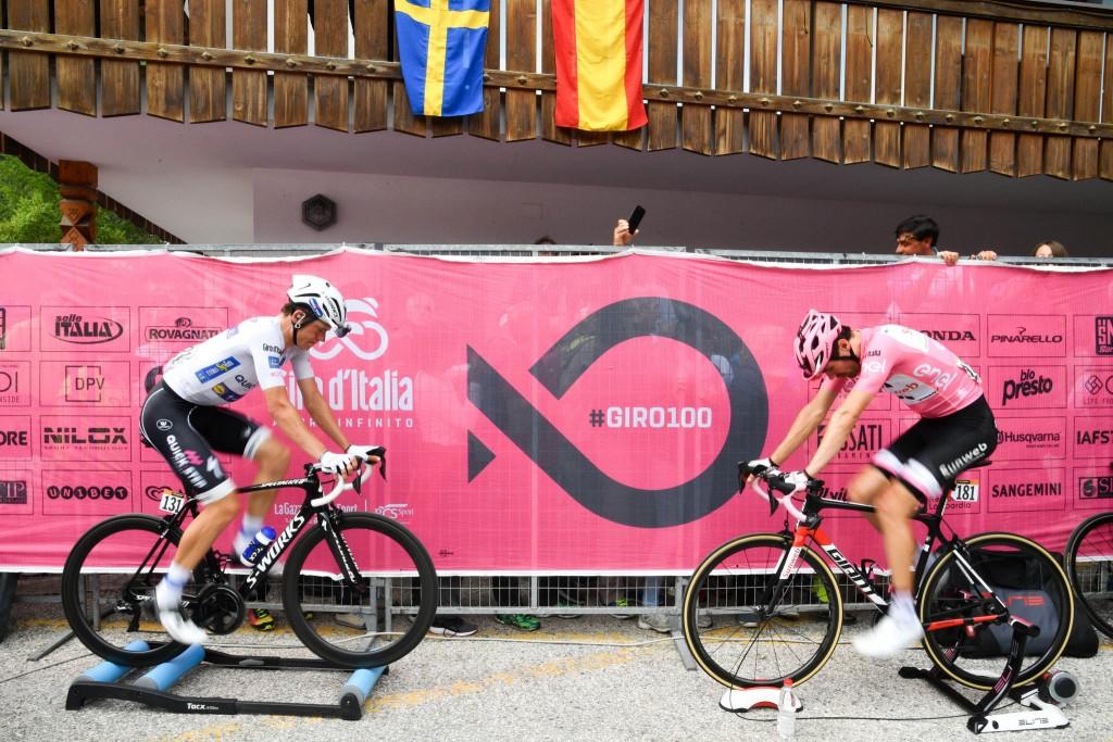 Dumoulin e Jungels al Giro d'Italia 2017