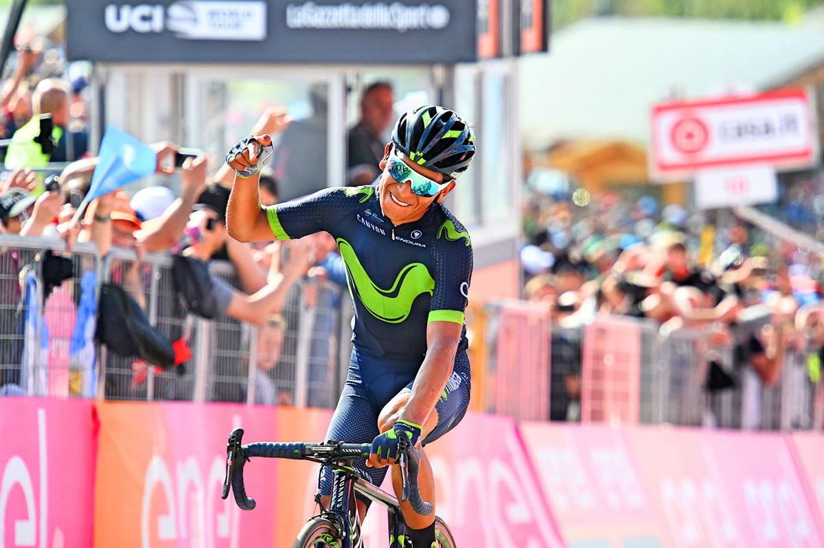 Nairo Quintana al Giro d'Italia 2017