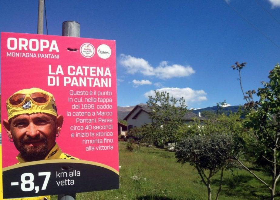 Il ricordo di Pantani al Giro d'Italia 2017