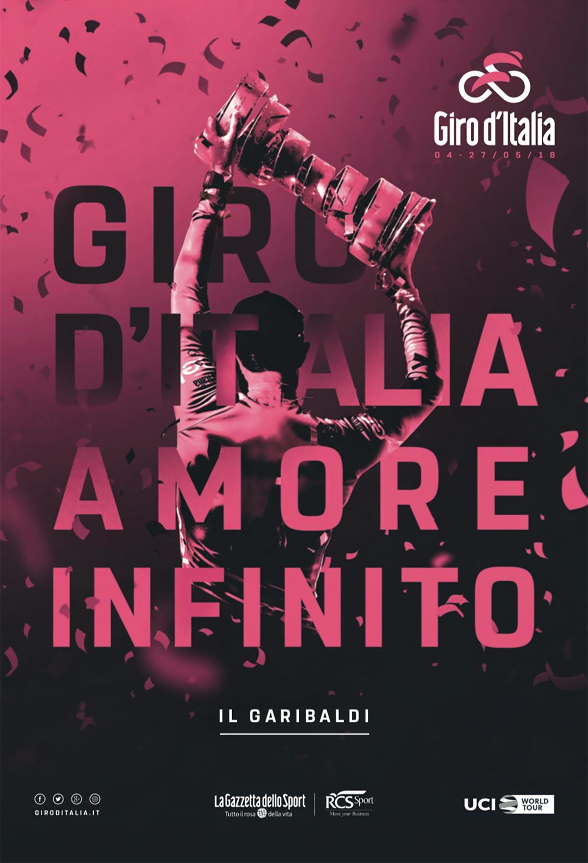 Il Garibaldi, la guida al Giro d'Italia 2018