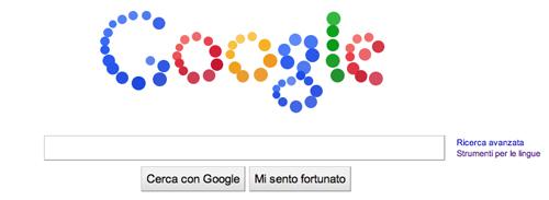 Il Google doodle per l'anniversario della società