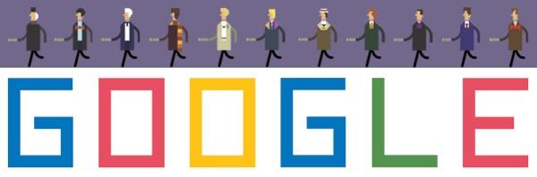Il doodle di Google per il 50esimo anniversario di Doctor Who