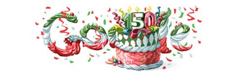 Il doodle di Google in occasione del 150esimo anniversario dell'Unità d'Italia