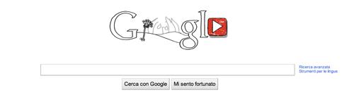 Il Google doodle su John Lennon