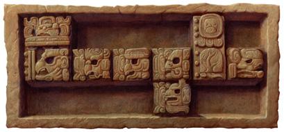 Il doodle di Google per la fine del calendario Maya