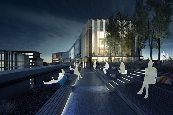Il progetto della sede di Google a Kings Cross a Londra