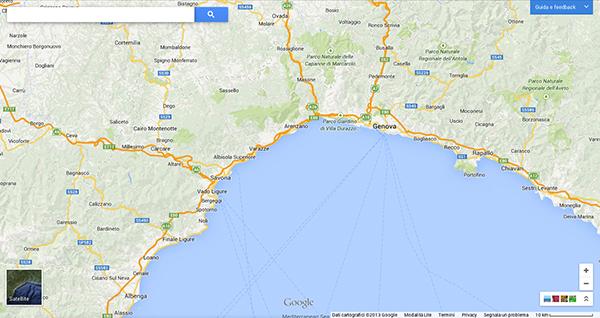 Il nuovo Google Maps 2013