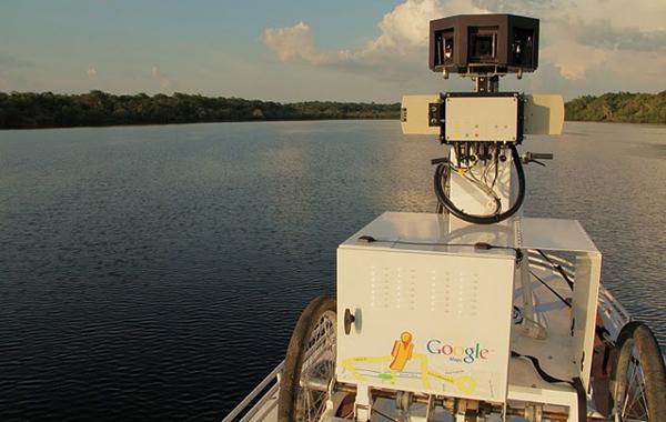Il triciclo di Google in Amazzonia