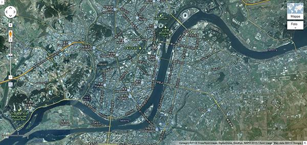La Corea del Nord su Google Maps