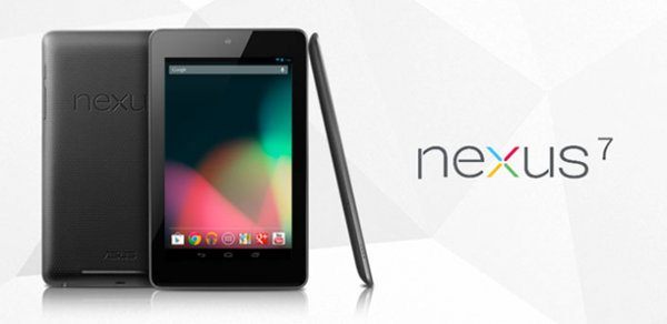 Il tablet di Google Nexus 7