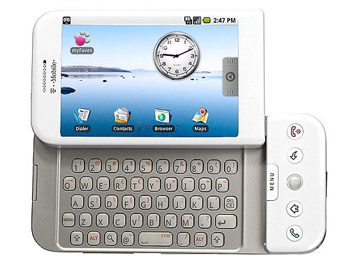 HTC Dream con sistema operativo Android