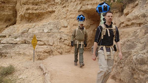 Gli zaini Trekker di Google Street View