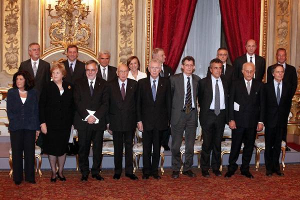 IL GOVERNO MONTI SANCISCE IL FALLIMENTO DELLA POLITICA ITALIANA