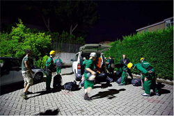 L'azione di Grenpeace a Vado Ligure