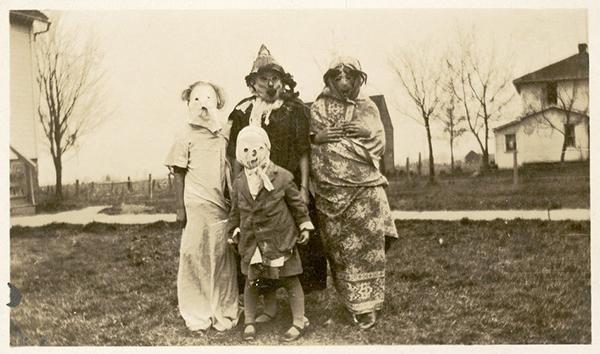 Costumi spaventosi di Halloween