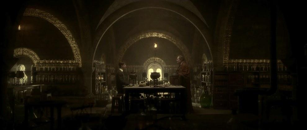 Scena tratta da Harry Potter e il principe mezzosangue