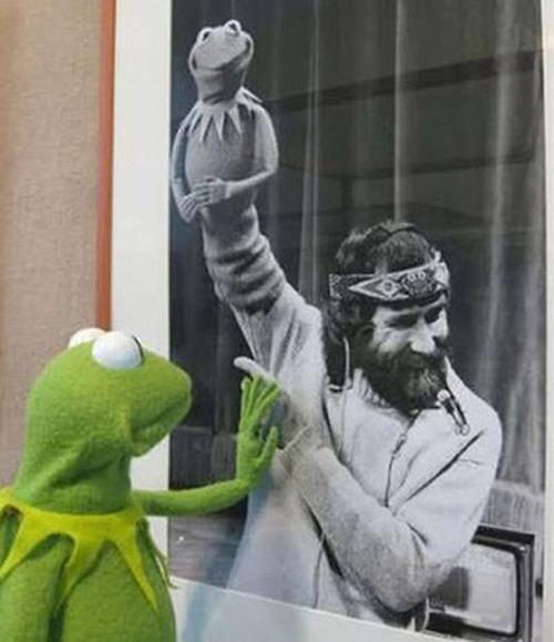 Jim Henson e Kermit