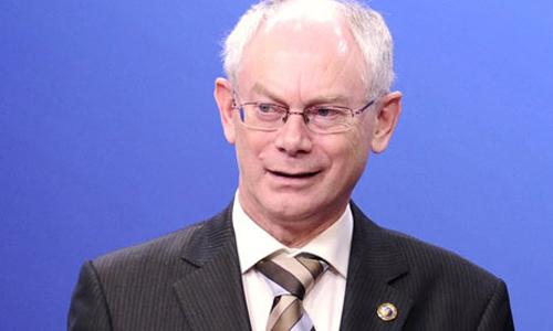 Herman Van Rompuy, primo presidente dell'Unione Europea