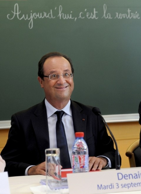 L'espressione infelice di Hollande