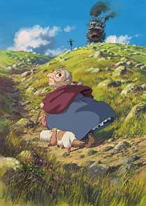 Poster del film 'Howl's moving castle'