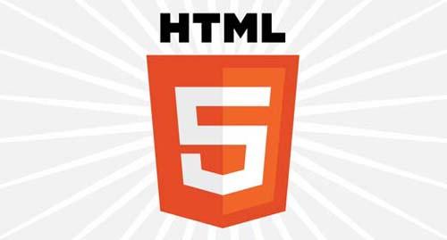Il logo ufficiale di HTML5