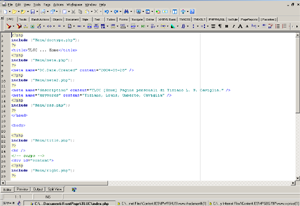 Screenshot di (x)HTML-kit