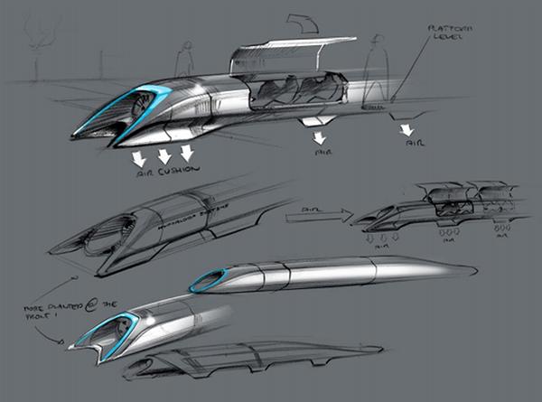Il progetto di Hyperloop