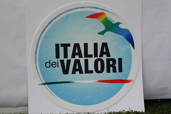 Il nuovo logo dell'Italia dei Valori