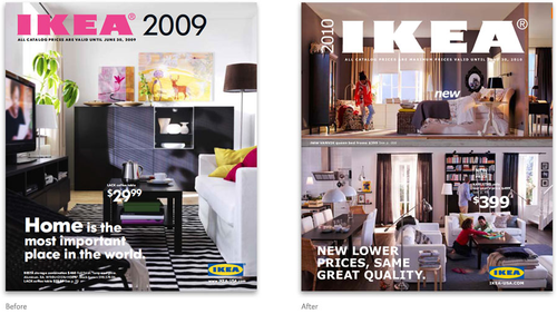 I cataloghi 2009 e 2010 di IKEA