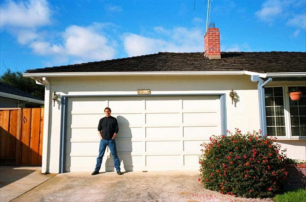 Il garage di Steve Jobs