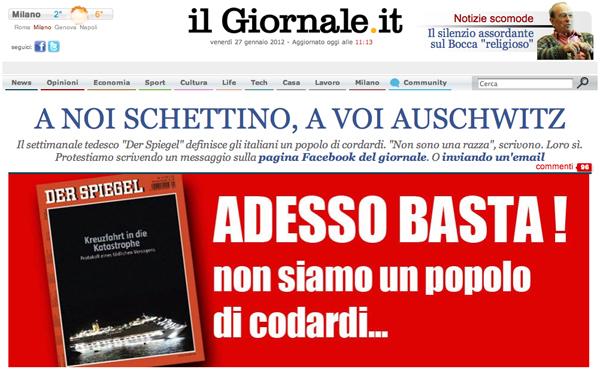 Screenshot de Il Giornale