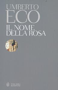 La copertina de 'Il nome della rosa' di Umberto Eco