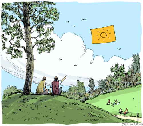 La vignetta di Gipi per Il Post