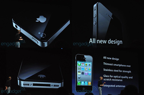 Slide di iPhone 4 dal keynote di Steve Jobs al WWDC 2010
