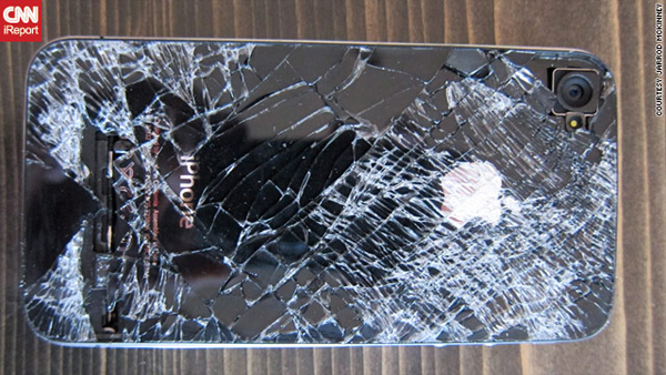 L'iPhone 4 precipitato e funzionante