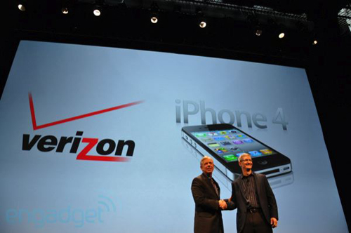 La presentazione dell'iPhone Verizon