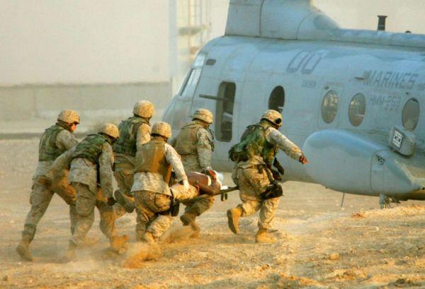 Soldati americani a Falluja