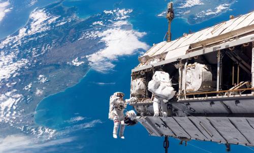 La ISS sorvola la Nuova Zelanda