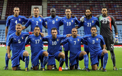 La nazionale italiana di Prandelli