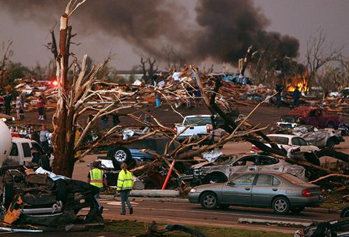 Joplin dopo il tornado