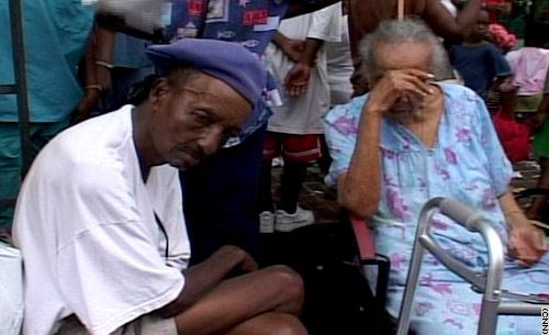 I rifugiati al Superdome di New Orleans