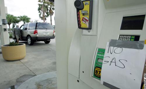 Niente più benzina