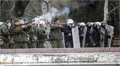 Rivolte in Kirghizistan