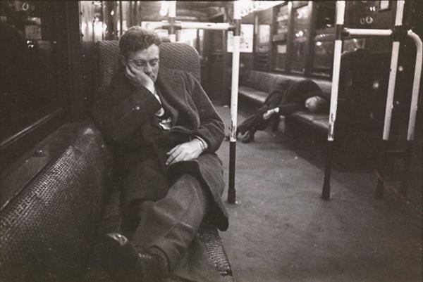 I passeggeri della metropolitana di New York