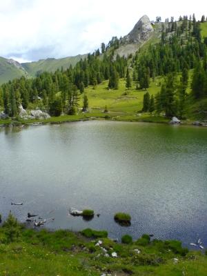 Il lago Lauscel (Val San Nicolò)