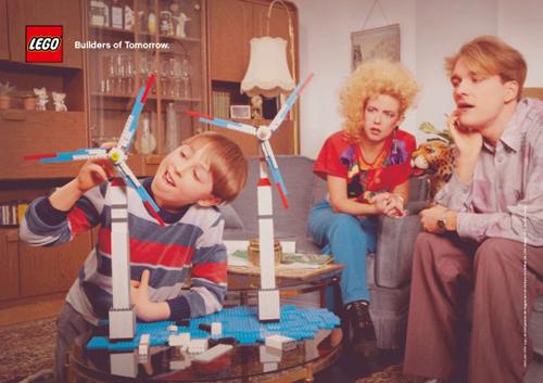 La pubblicità della Lego Builders of Tomorrow