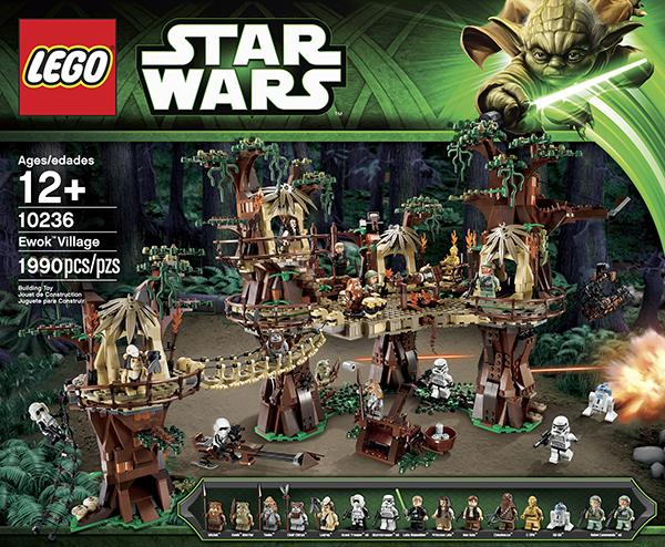Il villaggio degli Ewok di Lego