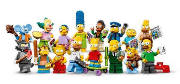 Le minifigure Lego dei Simpson