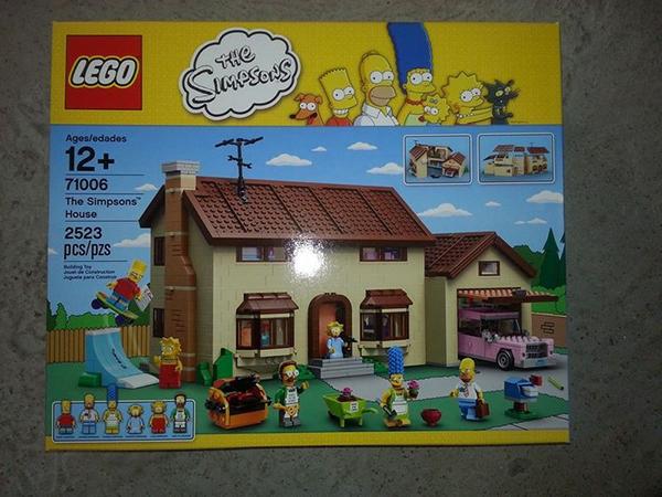Il set Lego dei Simpson